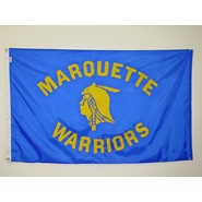 Marquette Warrior Flag (Blue)