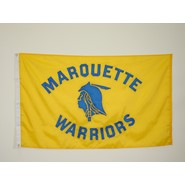 Marquette Warrior Flag (Yellow)