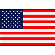2.5x4ft U.S. Flag with Pole Sleeve